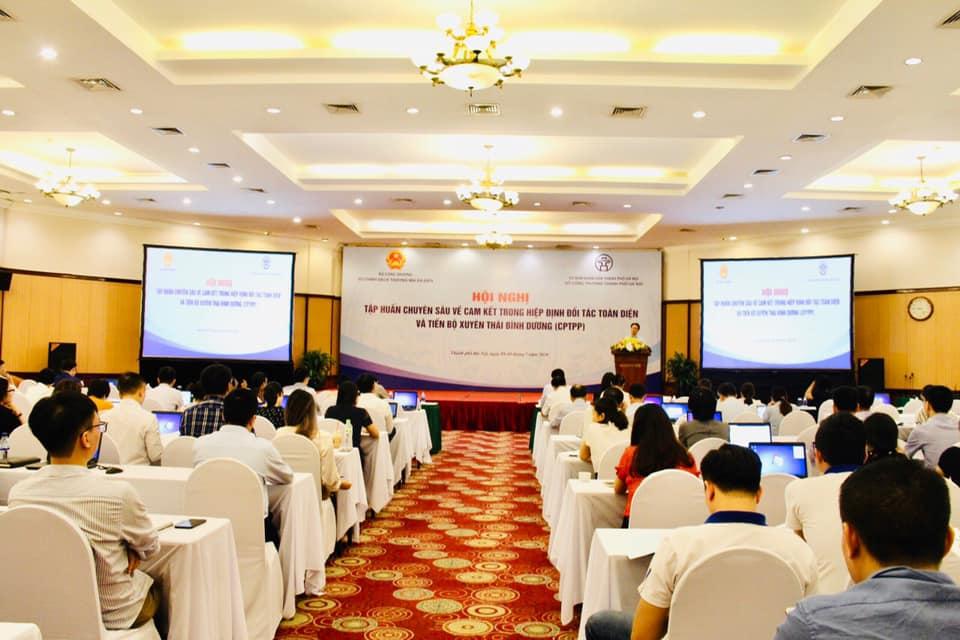 Tập huấn chuyên sâu cho các doanh nghiệp xuất hàng hóa vào thị trường CPTPP