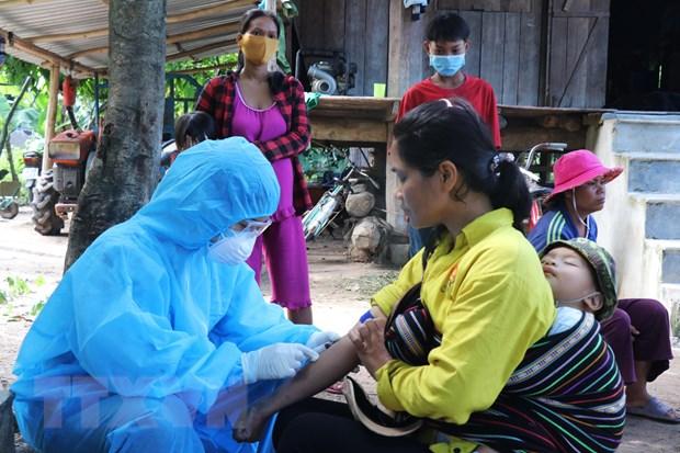 4,7 triệu người ở Tây Nguyên được tiêm vắcxin phòng bệnh bạch hầu