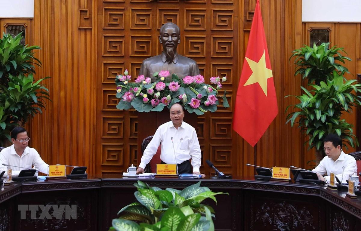 Thủ tướng Nguyễn Xuân Phúc làm việc với lãnh đạo chủ chốt tỉnh Bến Tre