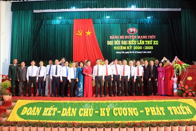 Đảng bộ huyện Mang Thít Vĩnh Long - Xác định 3 khâu đột phá