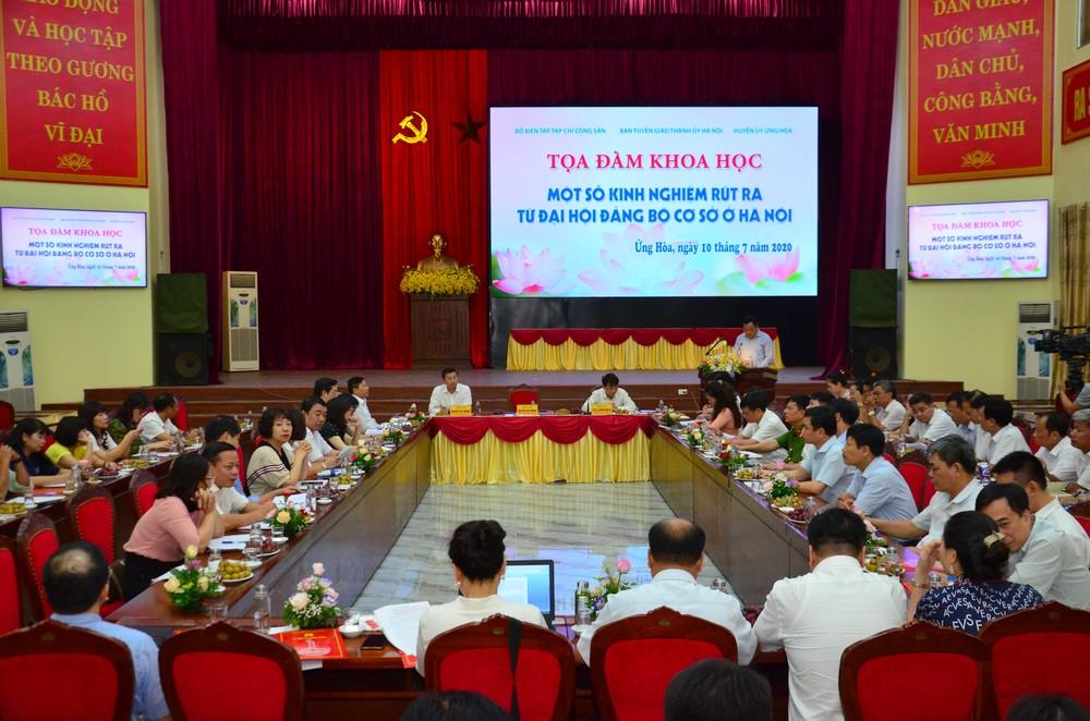 Một số kinh nghiệm rút ra từ đại hội đảng bộ cơ sở ở Hà Nội