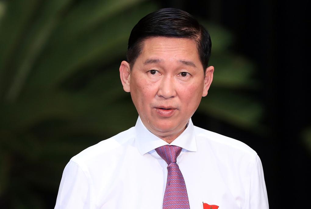 Tạm đình chỉ công tác Phó Chủ tịch UBND TP Hồ Chí Minh Trần Vĩnh Tuyến