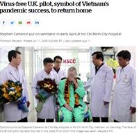 """Việc chữa trị khỏi cho """"bệnh nhân 91"""" là biểu tượng chống đại dịch thành công của Việt Nam"""