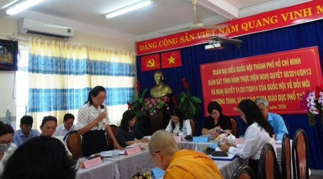 TP Hồ Chí Minh 100 giáo viên lớp 1 tham gia tập huấn chương trình giáo dục phổ thông mới