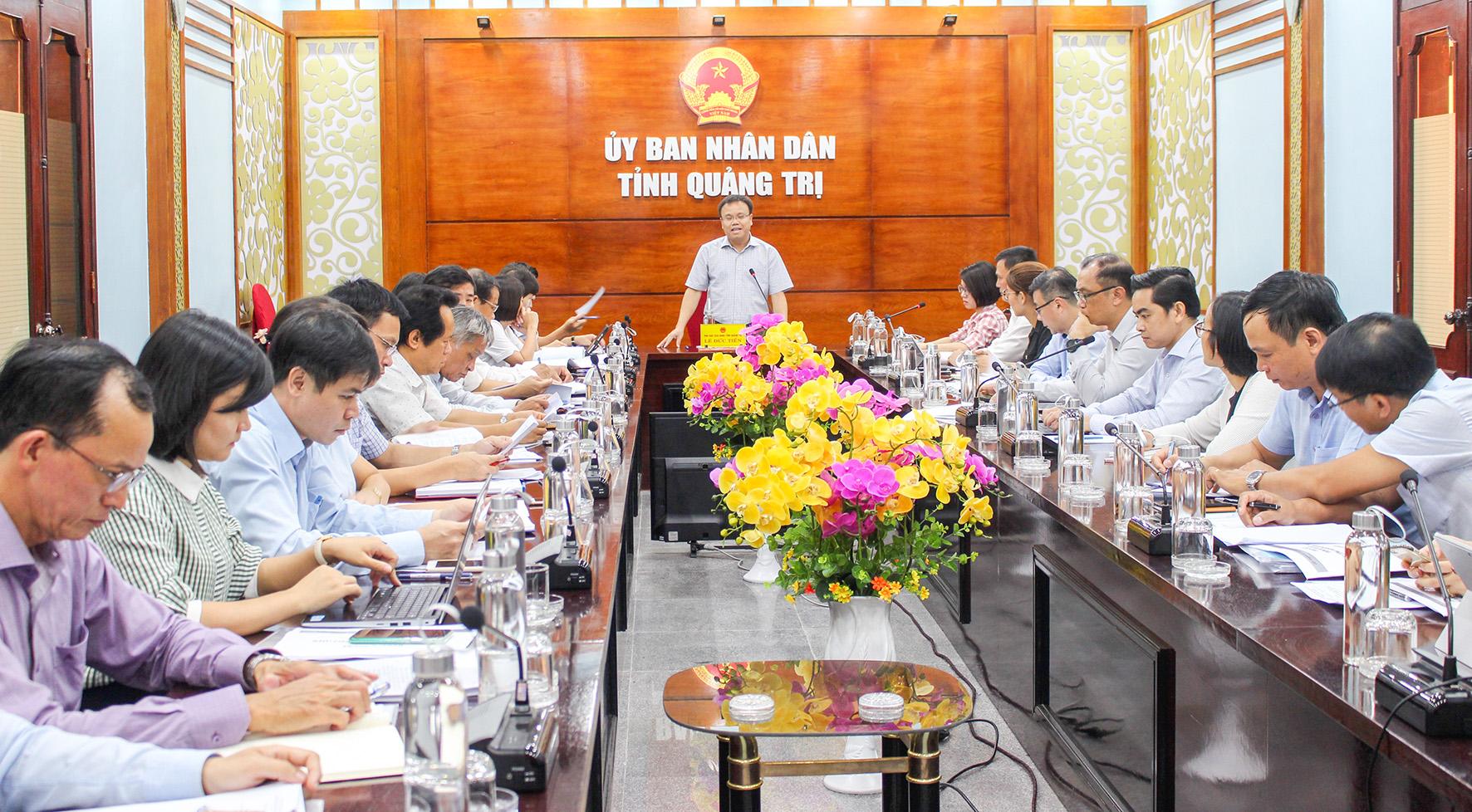 Quảng Trị Quyết tâm khởi công Dự án đầu tư phát triển hạ tầng Khu công nghiệp vào tháng 11 2020