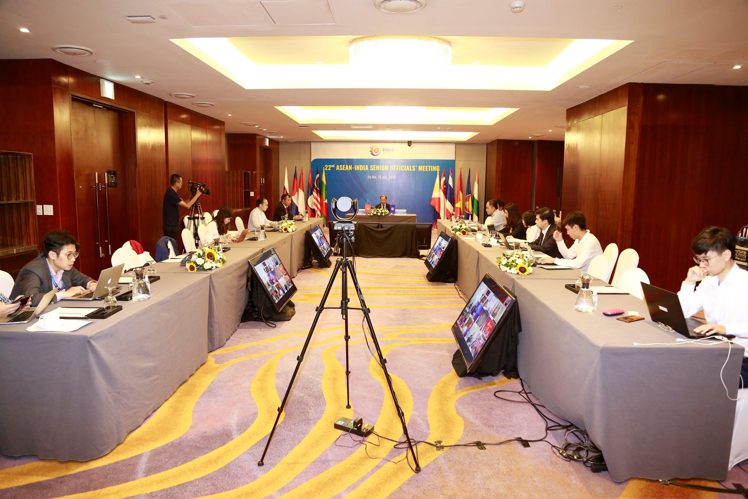 Ấn Độ luôn coi trọng ASEAN, ủng hộ vai trò trung tâm của ASEAN trong cấu trúc khu vực