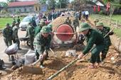 Bộ đội Biên phòng tỉnh Hà Tĩnh thi đua làm theo lời Bác