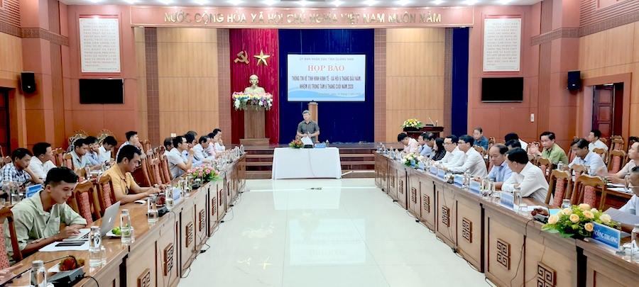 Quảng Nam Triển khai các giải pháp khôi phục, phát triển kinh tế