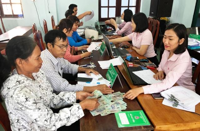 Tính đến ngày 30 6 2020, tổng dư nợ NHCSXH huyện Quảng Ninh đạt 333 114 triệu đồng