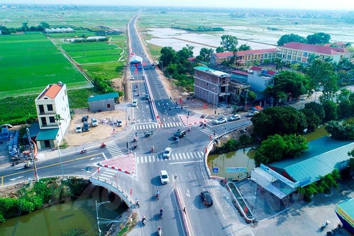Hải Dương thông xe tuyến đường nối quốc lộ 5 và quốc lộ 37
