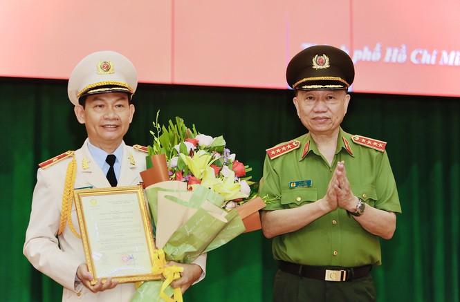 Phó giám đốc Công an TP Hồ Chí Minh được Thăng hàm Thiếu tướng