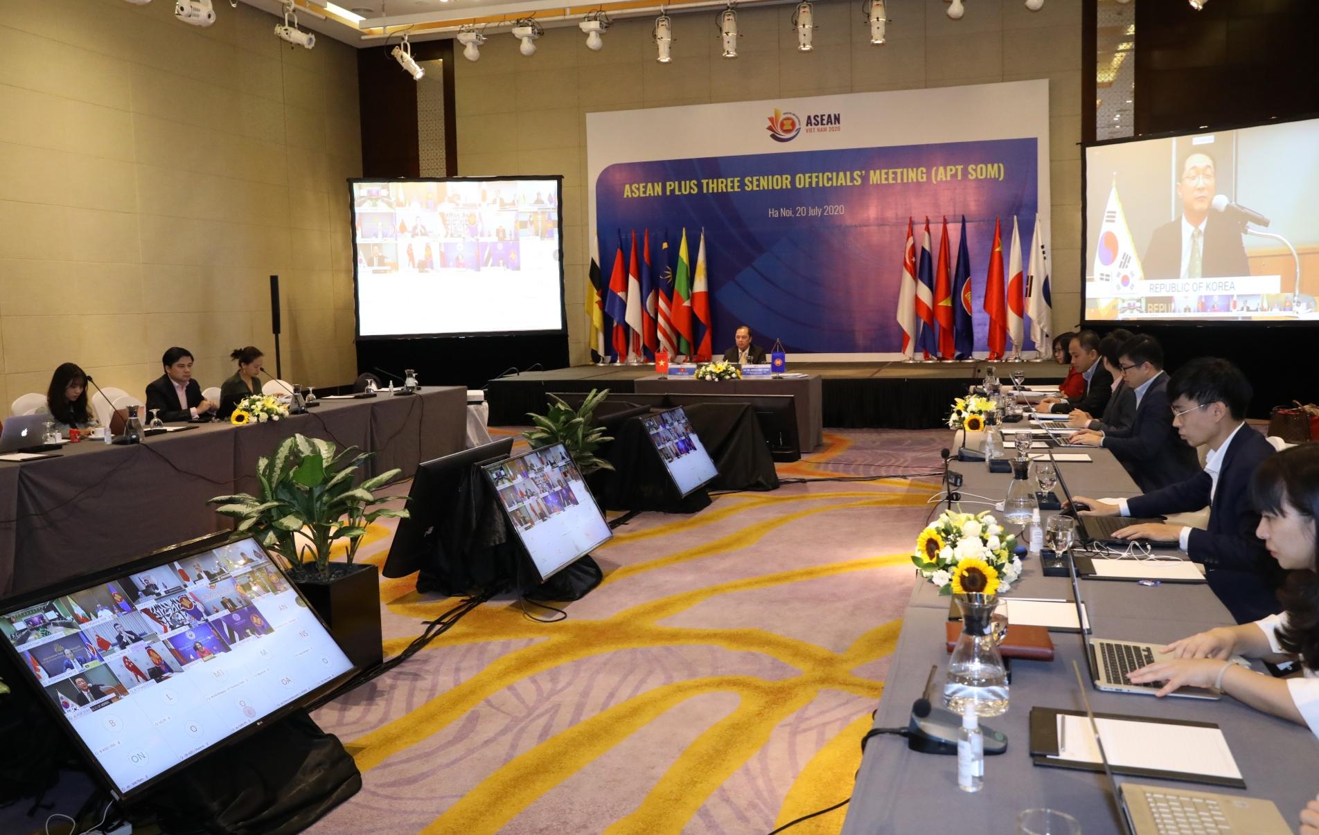 ASEAN+3 nhất trí tiếp tục đẩy mạnh cam kết và hợp tác thiết thực, hiệu quả
