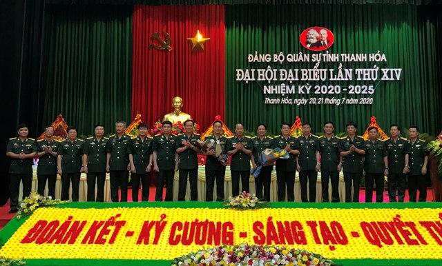 Xây dựng Đảng bộ Quân sự tỉnh Thanh Hóa thực sự mẫu mực, tiêu biểu