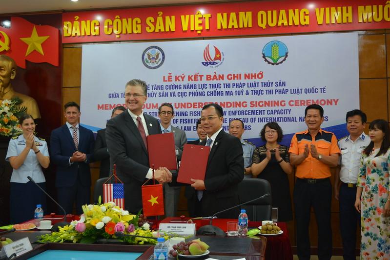 Việt Nam và Hoa Kỳ hợp tác nâng cao năng lực thực thi pháp luật thủy sản