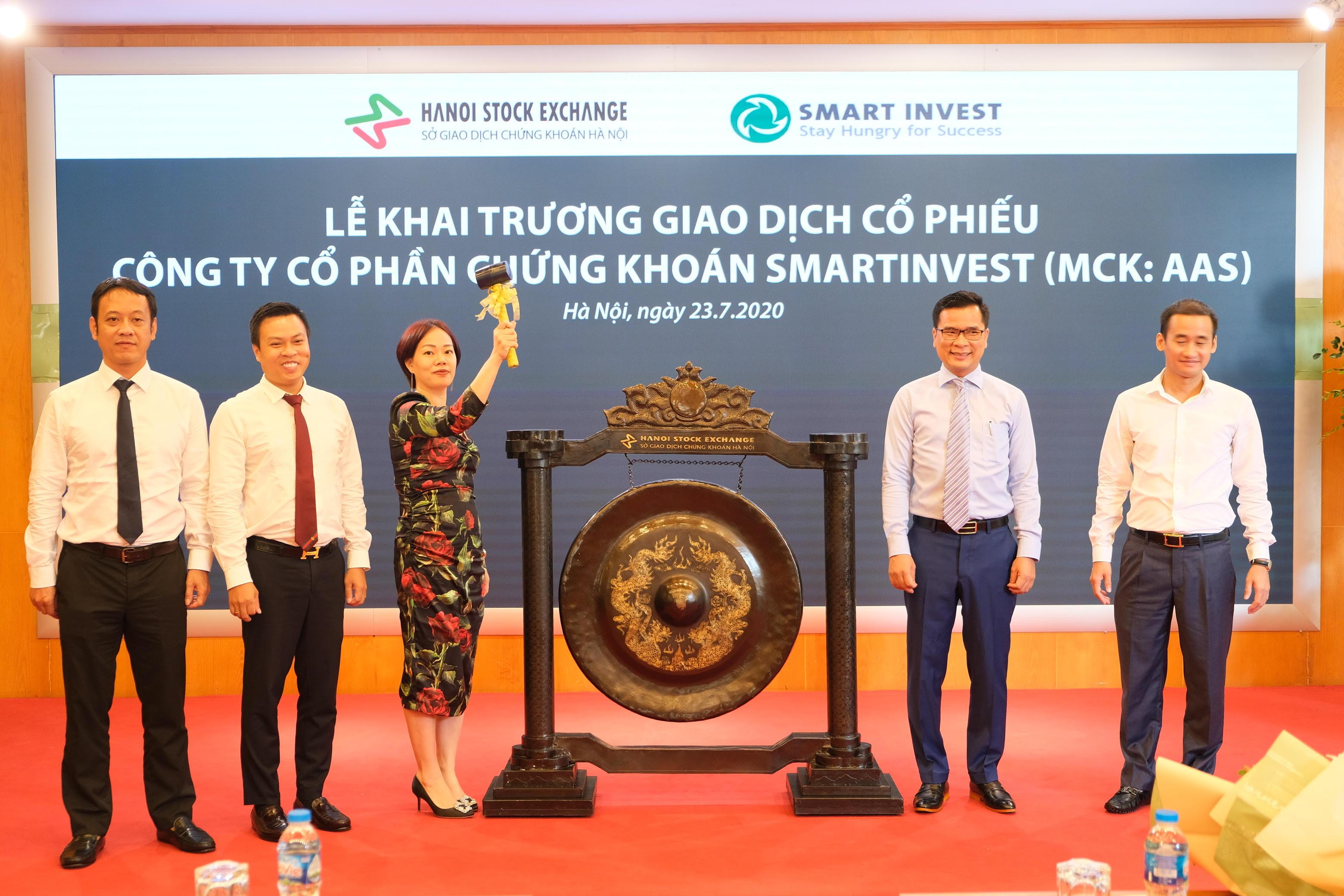 31 triệu cổ phiếu CTCP Chứng khoán SmartInvest chính thức giao dịch trên UPCoM