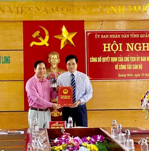 Quảng Ninh bổ nhiệm Phó Giám đốc Ban quản lý Vườn Quốc gia Bái Tử Long