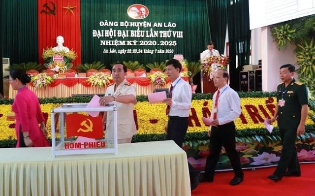Huyện An Lão Hải Phòng tiếp tục đẩy mạnh xây dựng nông thôn mới