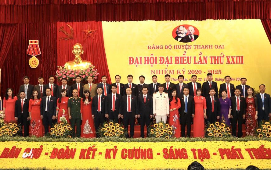 Thanh Oai Hà Nội  Phấn đấu trở thành huyện nông thôn mới nâng cao