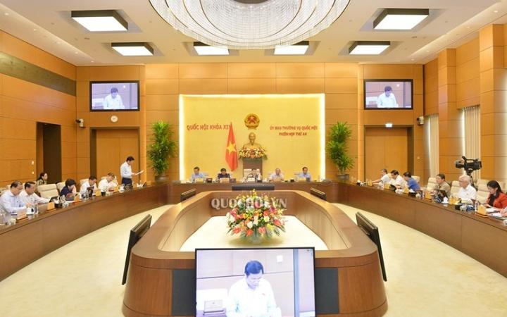 Chương trình giám sát năm 2021 của Ủy ban Thường vụ Quốc hội