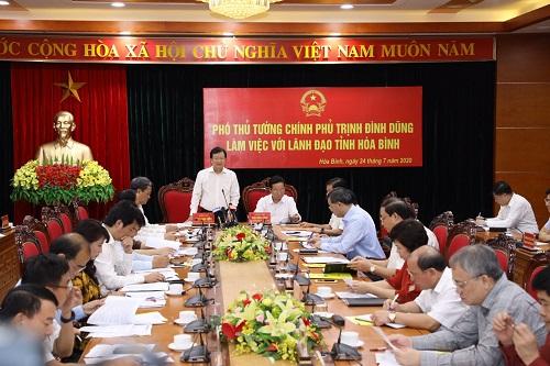 Hòa Bình cần tập trung lập Quy hoạch tỉnh thời kỳ 2021-2030, tầm nhìn đến năm 2050