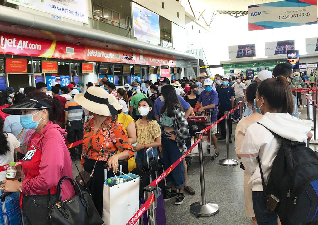 Hàng không, đường sắt tiếp tục tăng chuyến từ Đà Nẵng
