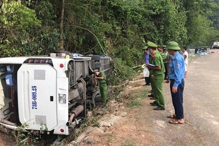 Ủy banTrung ương MTTQ Việt Nam hỗ trợ các nạn nhân vụ tai nạn giao thông tại Quảng Bình