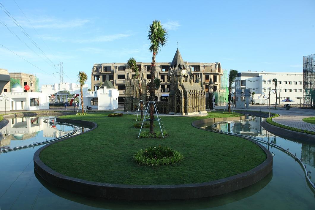 Hạ tầng khu đô thị Cát Tường Western Pearl 1 chính thức hoàn thiện