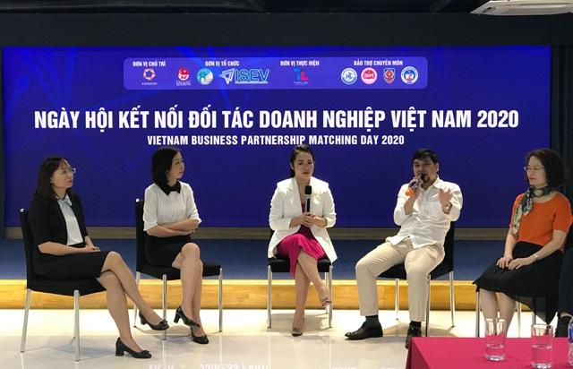 Ngày hội kết nối đối tác doanh nghiệp Việt Nam 2020