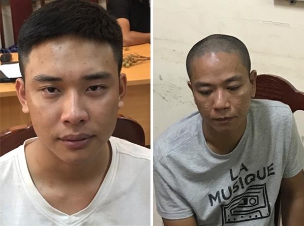 Bắt 2 đối tượng cướp Ngân hàng BIDV Chi nhánh Ngọc Khánh