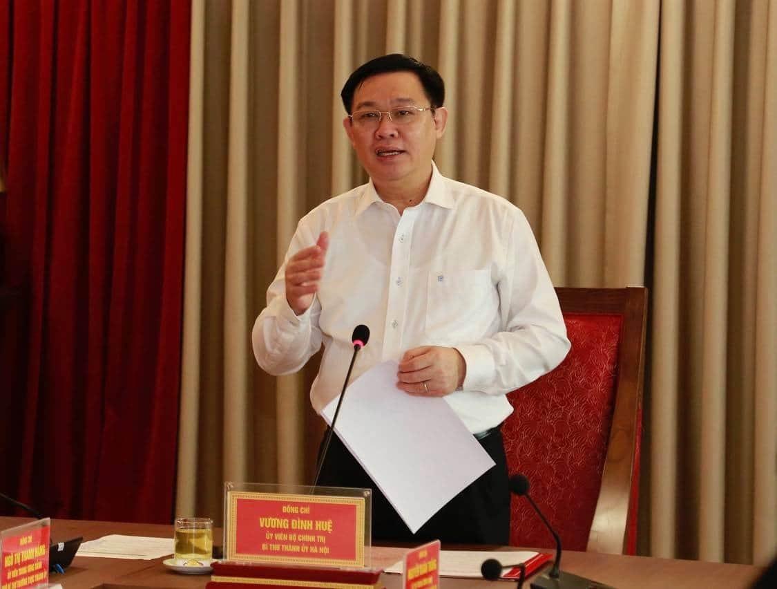 Ban Thường vụ Thành ủy Hà Nội chỉ đạo 6 nhiệm vụ cấp bách phòng, chống dịch
