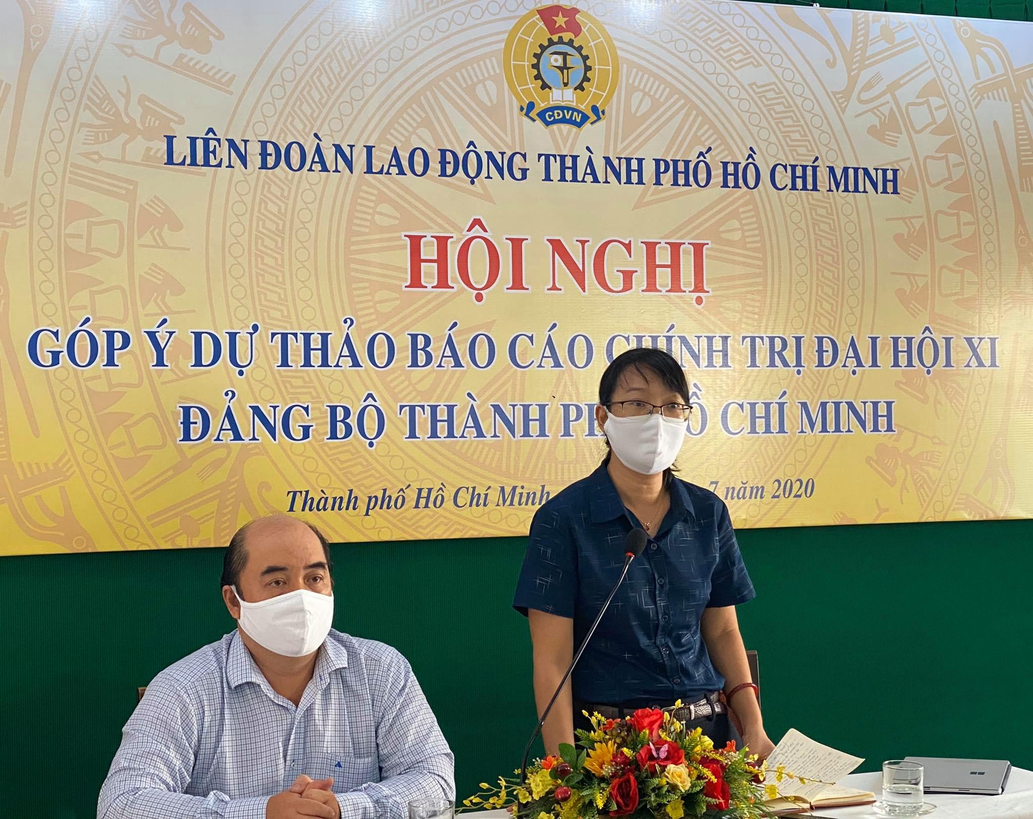 Cán bộ Công đoàn đóng góp vào văn kiện Đại hội Đảng bộ TP Hồ Chí Minh