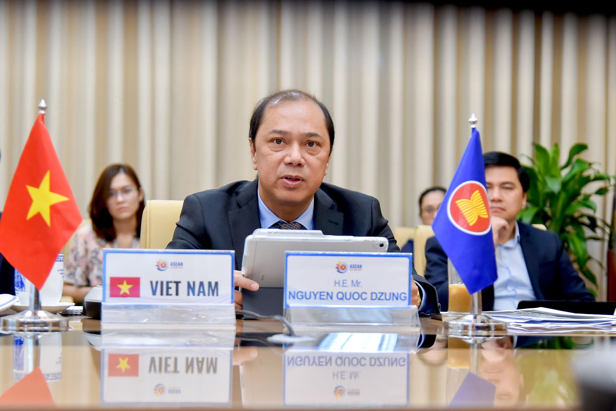 """""""Phục hồi sau đại dịch hướng tới một Cộng đồng ASEAN mạnh mẽ hơn"""""""