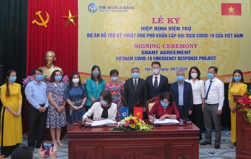 Ngân hàng Thế giới hỗ trợ Việt Nam 6,2 triệu USD ứng phó COVID-19