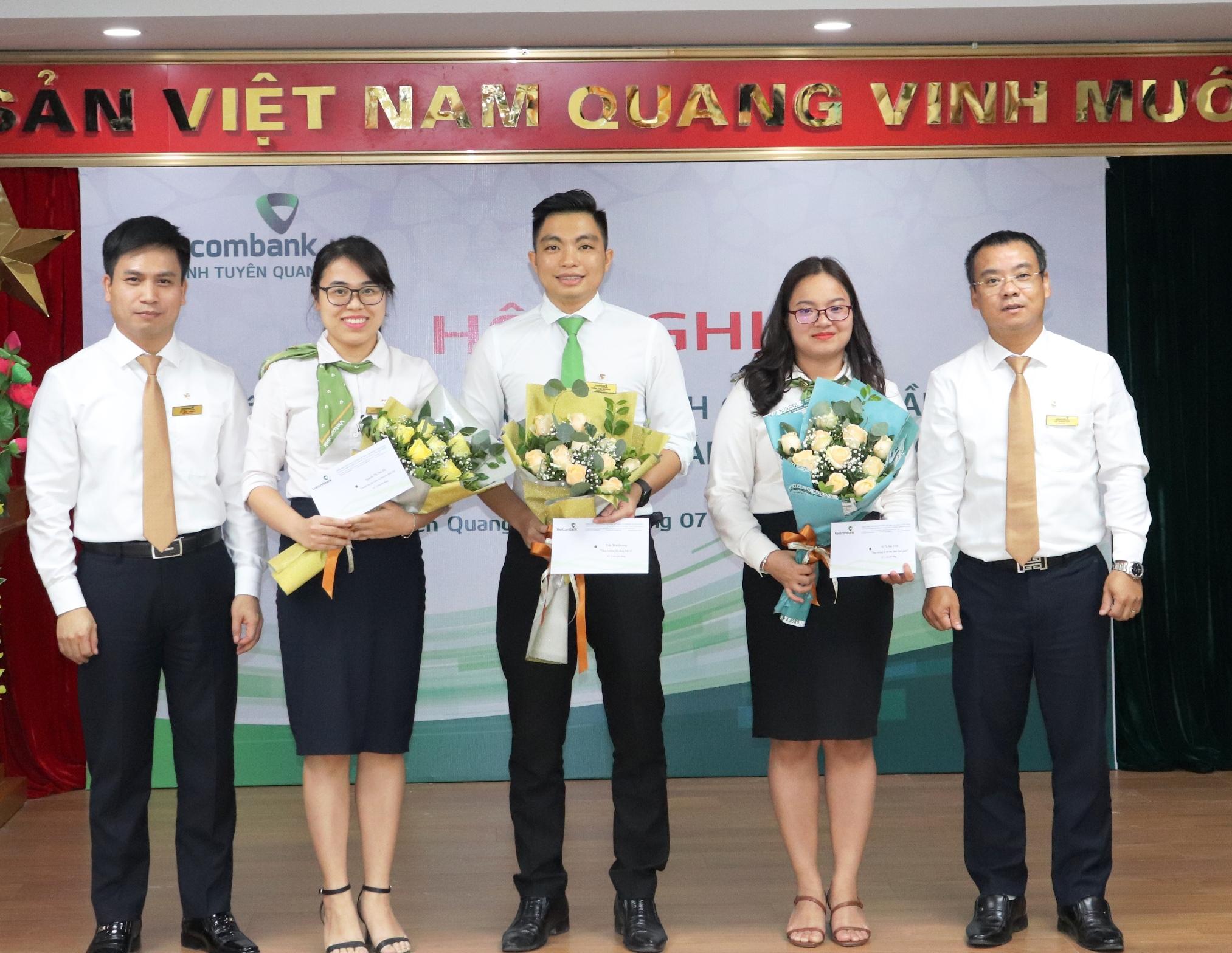 Vietcombank Tuyên Quang phấn đấu hoàn thành xuất sắc nhiệm vụ được giao