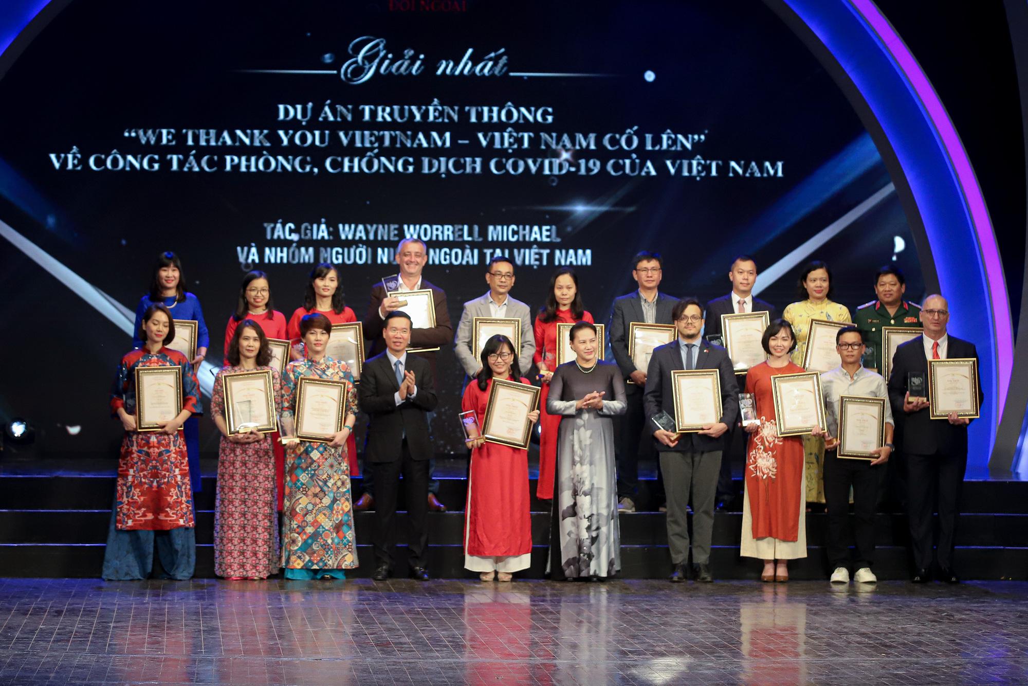 175 tác phẩm được trao Giải thưởng toàn quốc về thông tin đối ngoại lần thứ VI