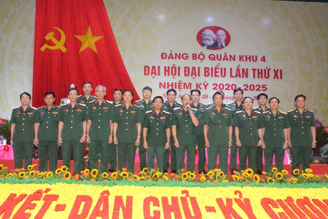 Xây dựng Đảng bộ Quân khu 4 trong sạch, vững mạnh tiêu biểu