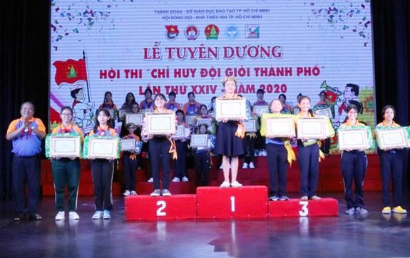 TP Hồ Chí Minh tuyên dương 34 Chỉ huy đội giỏi