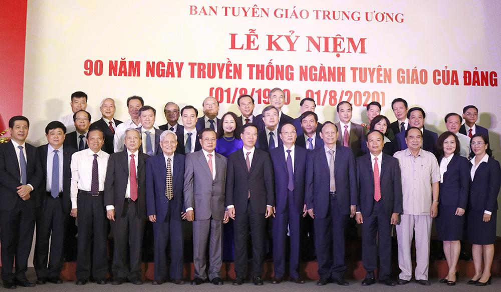 Toàn cảnh Lễ Kỷ niệm 90 năm Ngày truyền thống ngành Tuyên giáo của Đảng