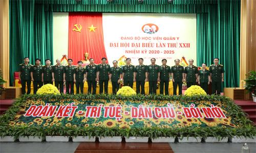 Đại hội đại biểu Đảng bộ Học viện Quân y lần thứ XXII thành công tốt đẹp