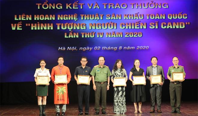 7 Huy chương Vàng tại Liên hoan sân khấu công an nhân dân