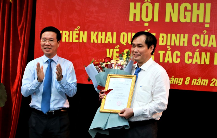 Đồng chí Phan Xuân Thủy giữ chức Phó Trưởng Ban Tuyên giáo Trung ương