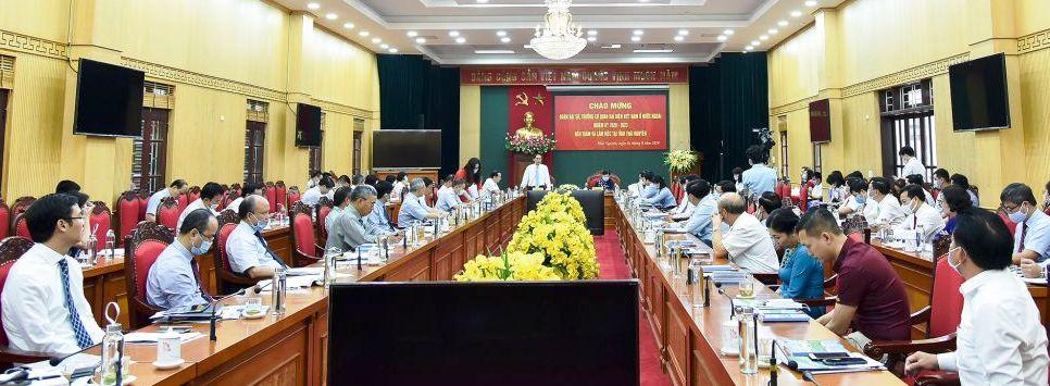 Tiếp tục quảng bá hình ảnh tỉnh Thái Nguyên tới bạn bè quốc tế