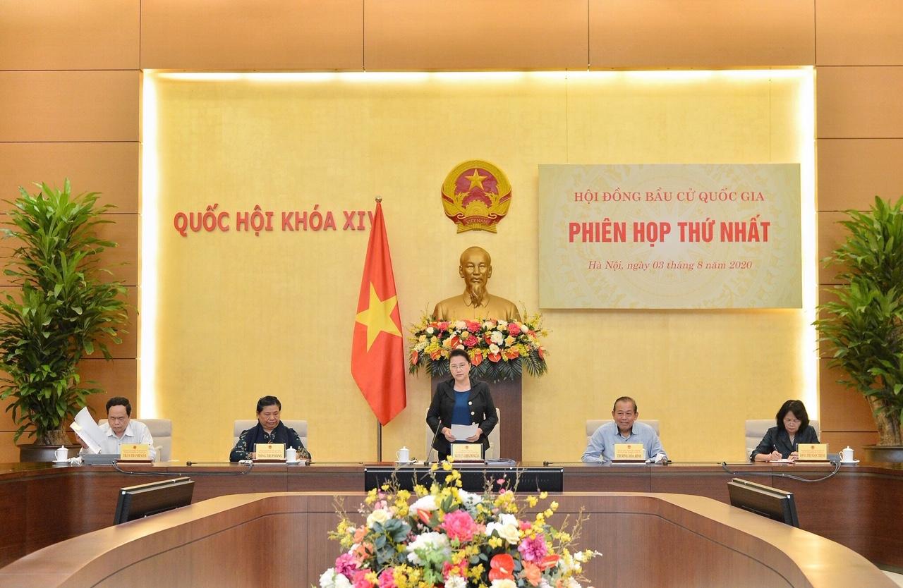 Hội đồng Bầu cử Quốc gia họp phiên thứ nhất