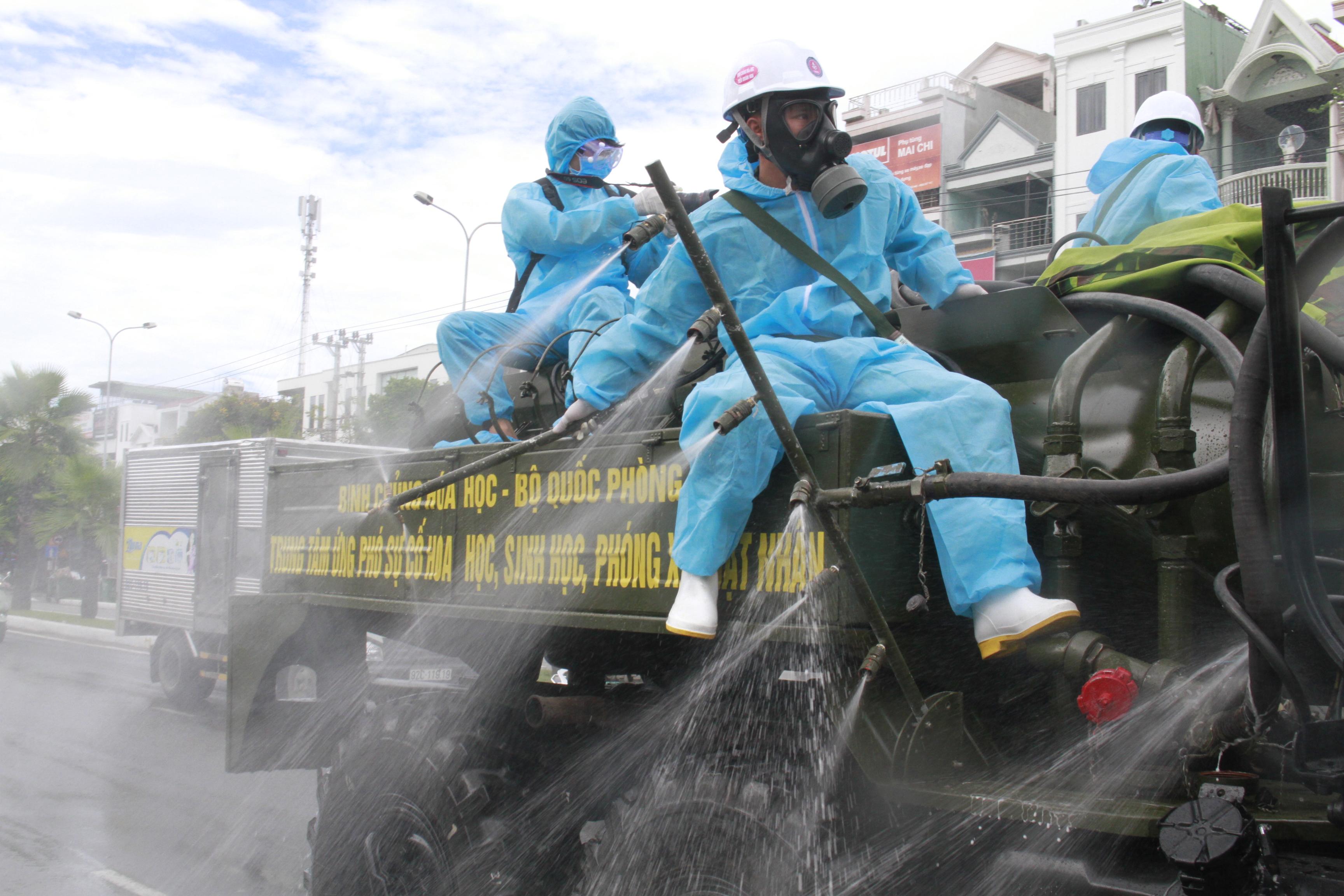 Đà Nẵng đề nghị Bình Định và Hải Phòng hỗ trợ chống COVID-19