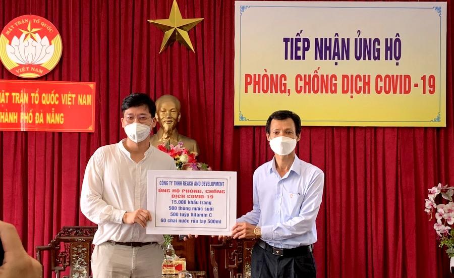 Doanh nghiệp Hàn Quốc đồng hành cùng Đà Nẵng chống COVID-19