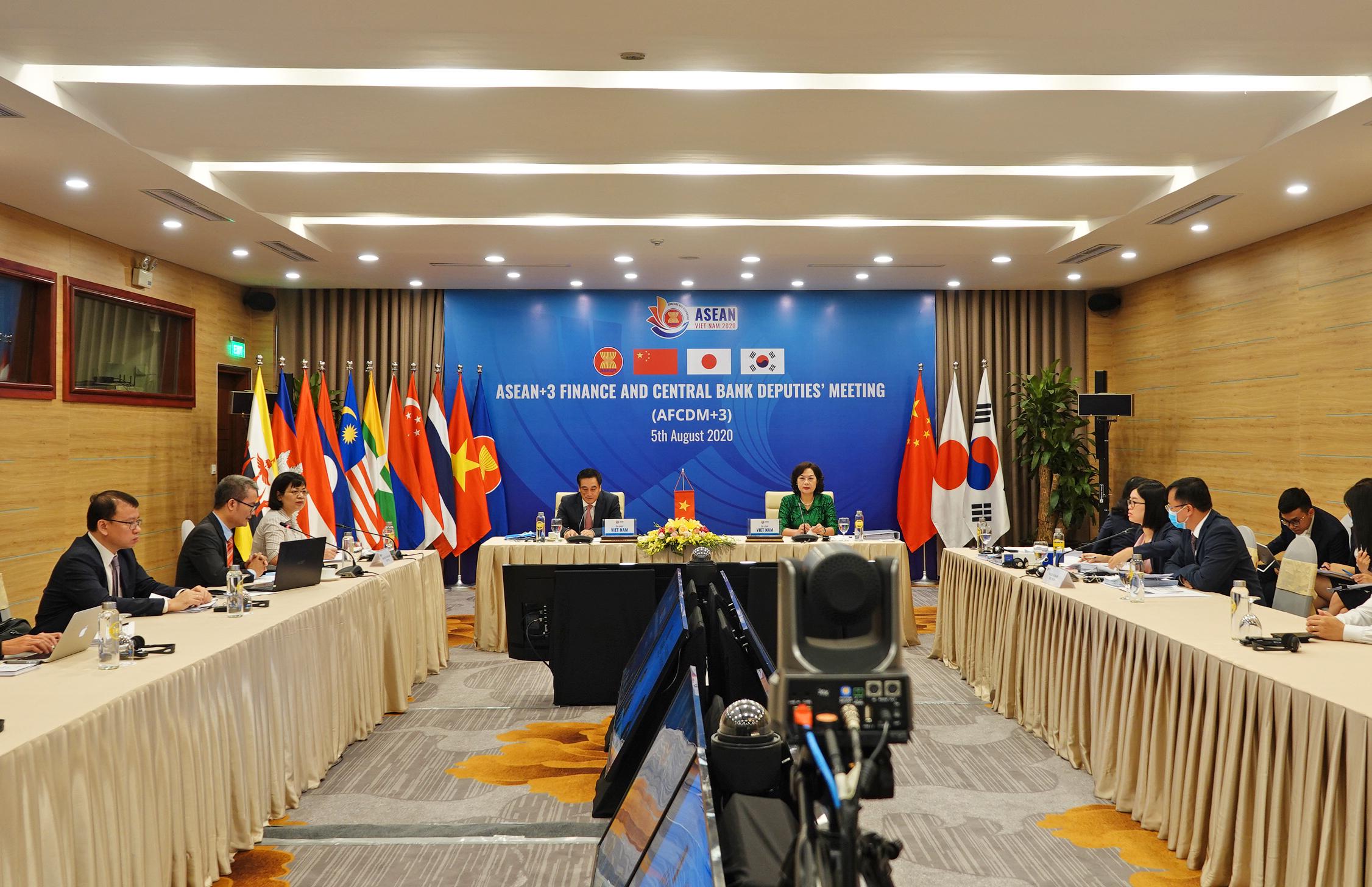 Xem xét sáng kiến mới về hợp tác tài chính trong ASEAN+3