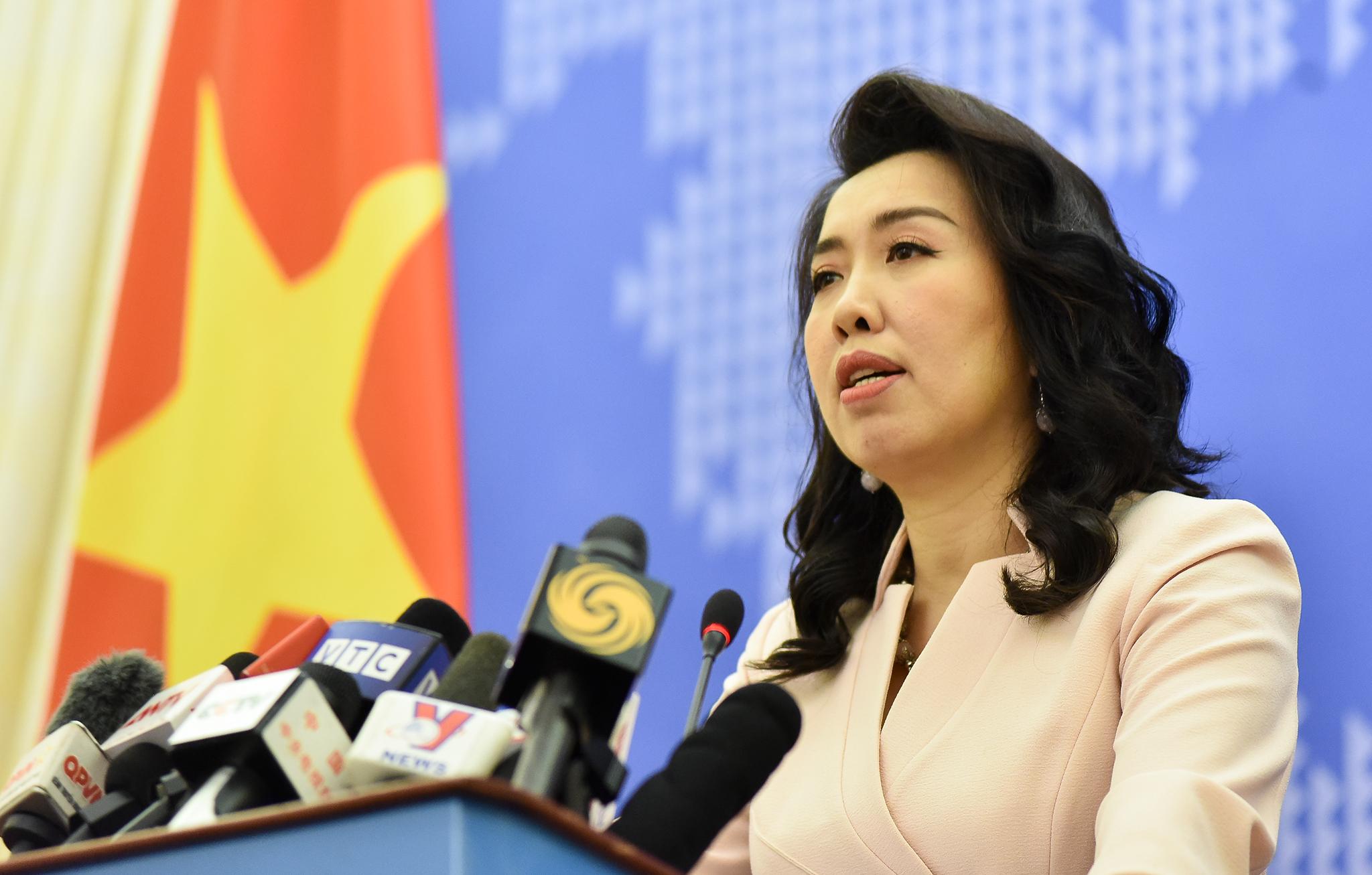 Mọi hoạt động liên quan đến quần đảo Hoàng Sa của Việt Nam mà không được sự cho phép của Việt Nam đều là hành vi vi phạm chủ quyền và vô giá trị