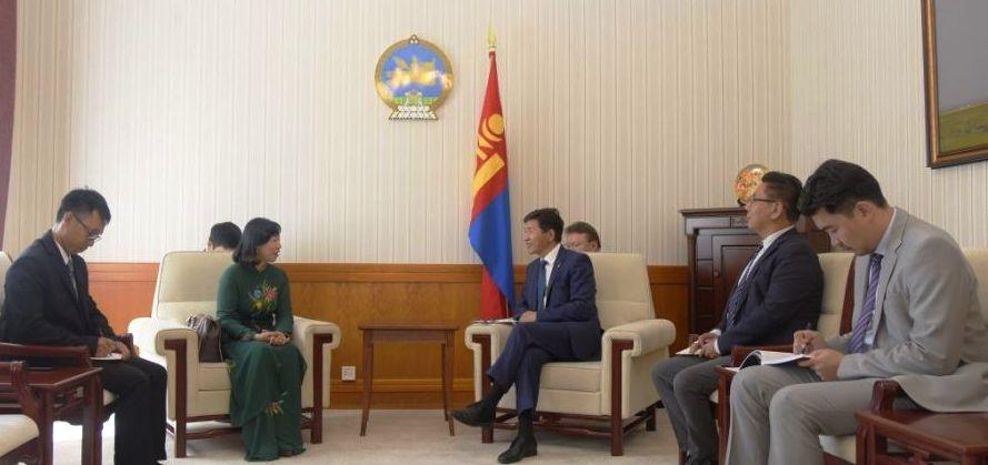 Tăng cường quan hệ hữu nghị hợp tác nhiều mặt giữa Việt Nam và Mông Cổ