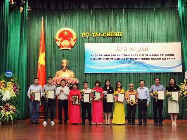 Báo điện tử Đảng Cộng sản Việt Nam đạt giải C viết về ngành Tài chính 2020