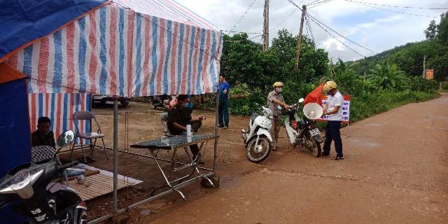 Bắc Giang Cách ly y tế ở một số thôn liên quan đến 2 bệnh nhân COVID-19
